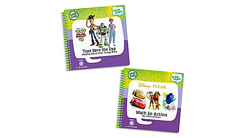 LeapStart 2 Book Combo Math Toy