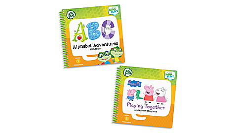 LeapStart 2 Book Playing and Alphabet