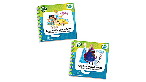 LeapStart 2 Book Vocabulary and Seasons