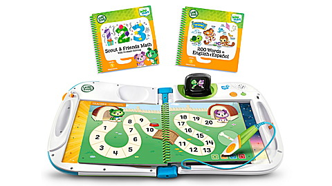 LeapStart 3D System 2 Book Learning Friends and Scout