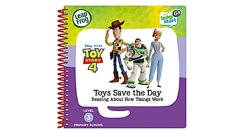LeapStart Go Toy Story 4 Reading Book UK