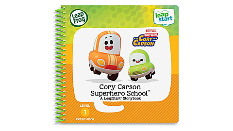 LeapStart Level 1 Go Go Cory Carson Book