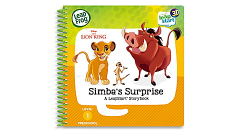 IE LeapStart Level 1 Lion King Book