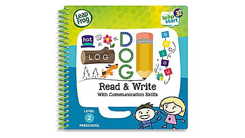 LeapStart Level 2 Preschool Read Write Activity Book 3D UK