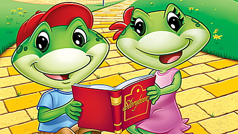 Learn to Read at the Storybook Factory DVD