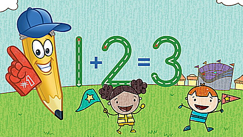 Learn to Write Numbers with Mr. Pencil Activity Set