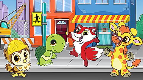 Learning Friends Preschool Adventures: Fox
