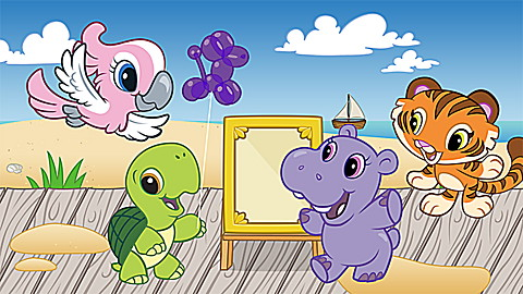 Learning Friends Preschool Adventures: Hippo Tells Stories