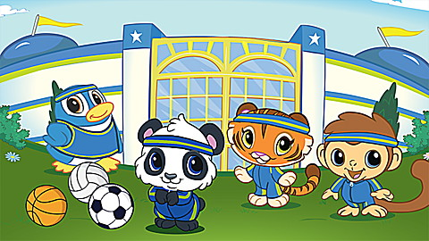 Learning Friends Preschool Adventures: Panda