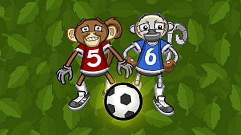 Monkey Soccer: Math League