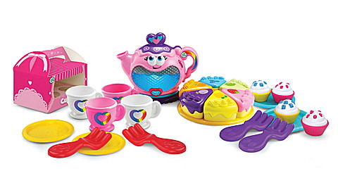 Musical Rainbow Tea Party Deluxe