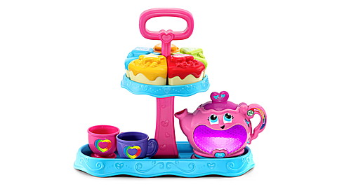Musical Rainbow Tea Party