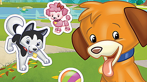 LeapReader™  Book: Pet Pals Sticker Story Time