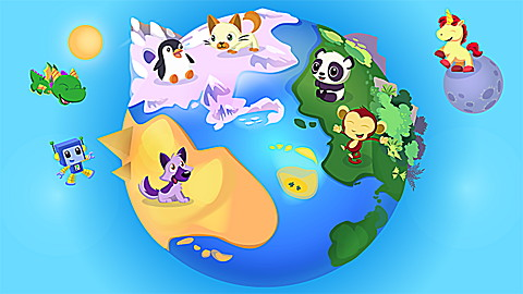 LeapTV Pet Play World