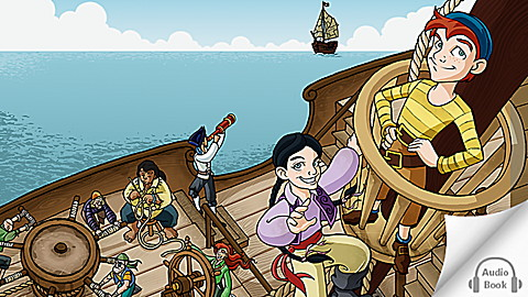 Pirates! The Treasure of Turtle Island Audio Book