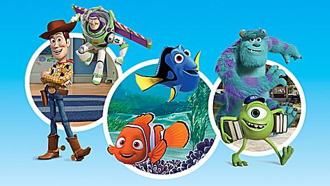 LeapTV: Disney∙Pixar Pixar Pals Educational, Active Video Game