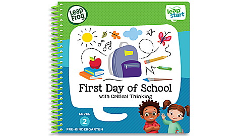 LeapStart™ First Day of School with Critical Thinking 30+ Page Activity Book