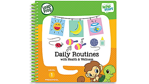 LeapStart™ Daily Routines with Health & Wellness 30+ Page Activity Book