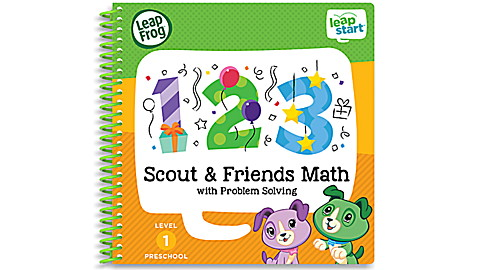 LeapStart™ Scout & Friends Math with Problem Solving 30+ Page Activity Book