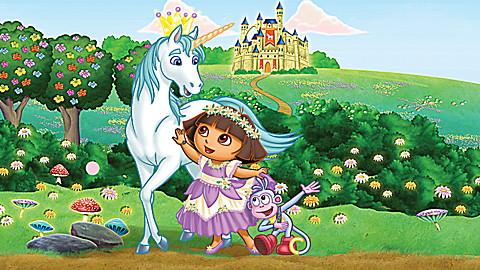 LeapReader™ Book: Dora the Explorer: Tale of the Unicorn King