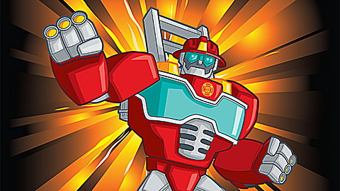 Transformers Rescue Bots: Volume 3