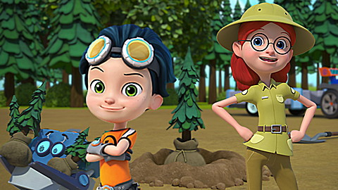 Rusty Rivets:  Wild Inventions!