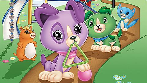 Scout & Friends Adventures in Shapeville Park DVD