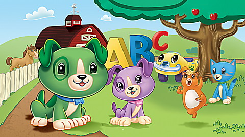 Scout & Friends: Phonics Farm