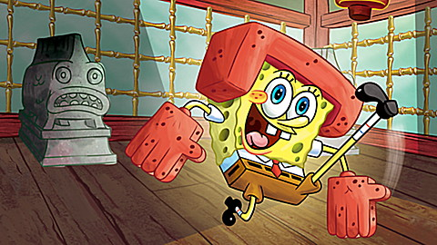 SpongeBob SquarePants Fists of Foam