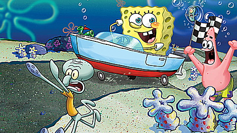 SpongeBob SquarePants: The Clam Prix