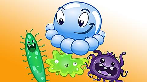 Super Suds! Germ Scrubbers