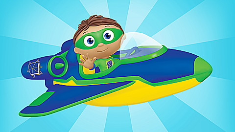 Super Why! Out of This World Adventures