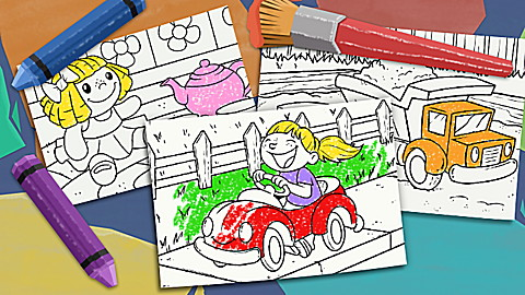 The Colouring Club: Toys!