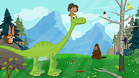 The Good Dinosaur: Arlo and Spot