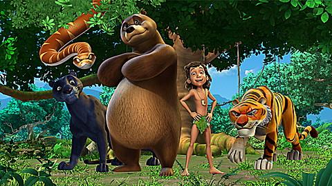 The Jungle Book: Sleeping Python