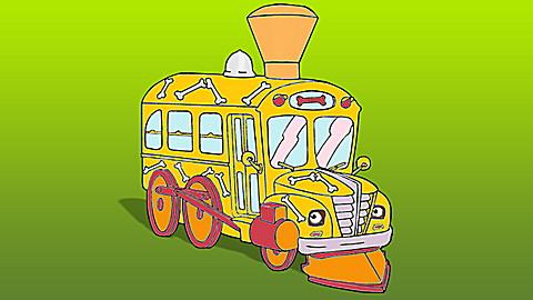 The Magic School Bus®: Flexes Its Muscles