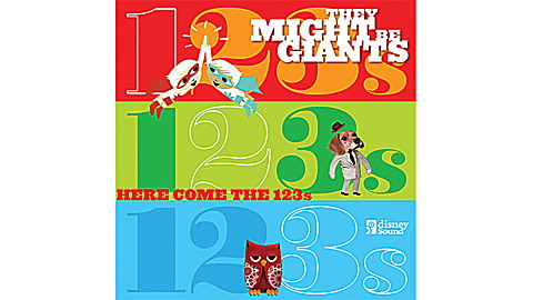 They Might Be Giants: Here Come the 123s