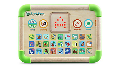 Touch & Learn Nature ABC Board