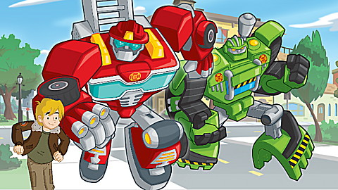 Hasbro Transformers Rescue Bots Race to the Rescue