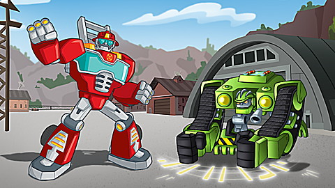 Transformers Rescue Bots: Great Gobs of Goo