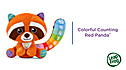 Colorful Counting Red Panda™ View 2