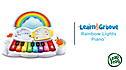 Learn & Groove® Rainbow Lights Piano™ View 2