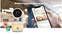 """LF925HD Remote Access Smart Video Baby Monitor with 5"""" HD Display Unit View 8"""