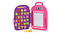 Go with Me ABC Backpack Pink